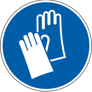 Sandstrahl Handschuhe